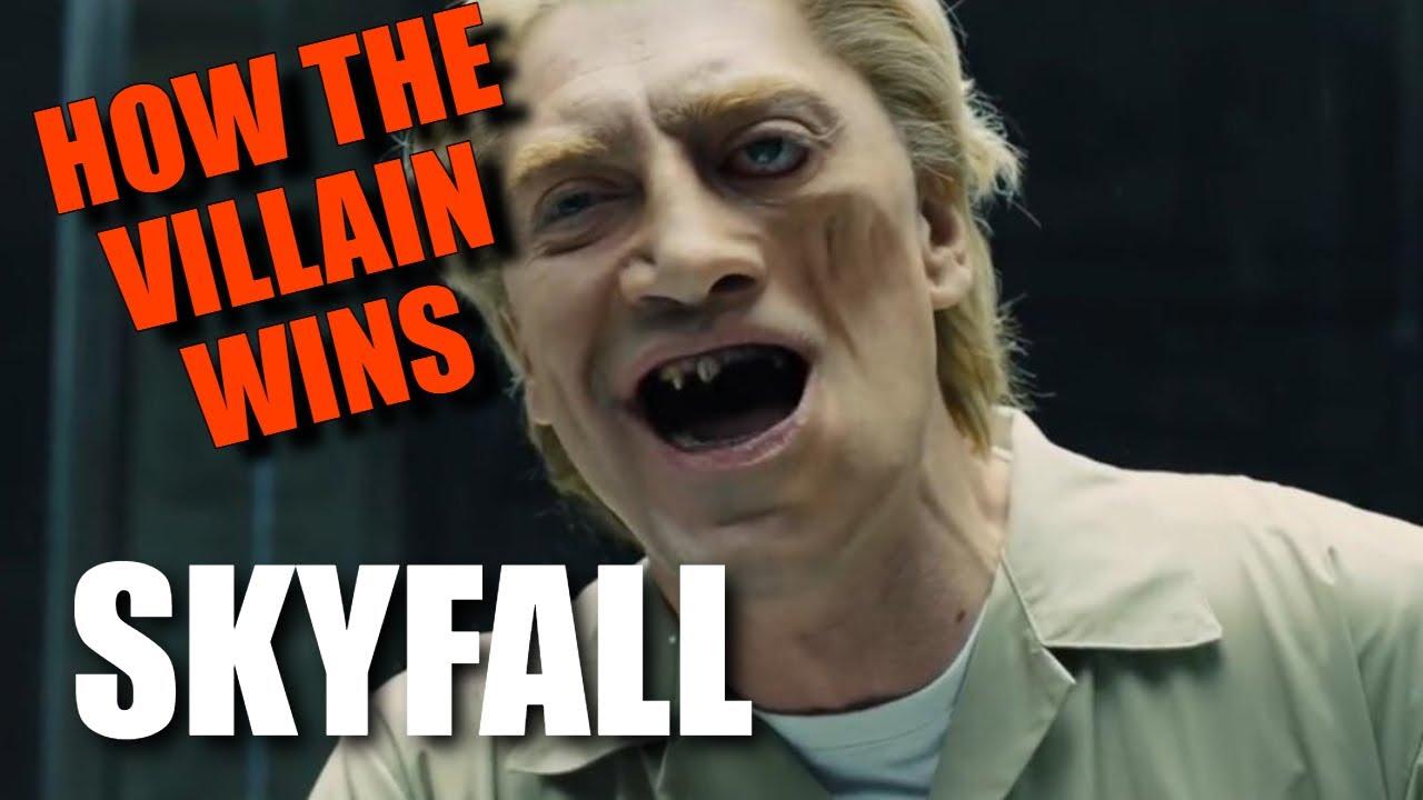 "How the BOND VILLAIN wins in ""SKYFALL"" (2012)"