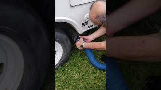 TT Rental Pull-behind Camper Instructional Video 1: Plug in and Water Tanks