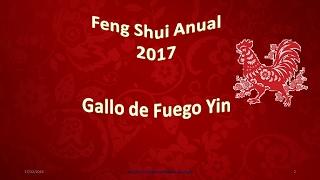 Curas de Feng Shui  2017/Feng Shui Annual 2017 Malú Grajales Vargas