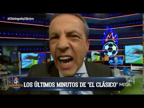 Así fue la reacción en el plató de El Chiringuito tras el tercer gol de Messi
