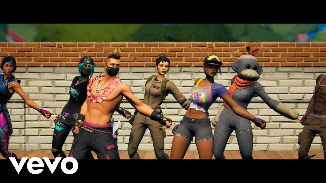 Bop | DaBaby (Official Fortnite Music Video)