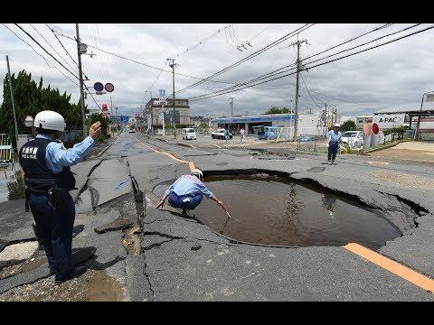 6.1 magnitude earthquake rocks northern Osaka, two dead