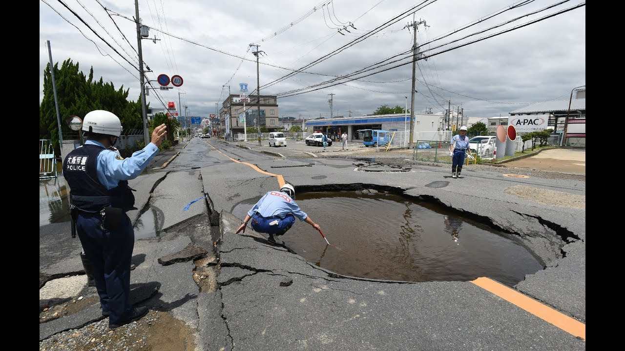 6.1 magnitude earthquake rocks northern Osaka, two dead