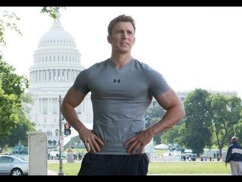 Capitan America Motivacion para el Gym y Running