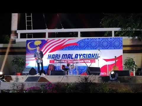 Ashral hassan - Oh Cinta Oh Sayang Live HARI MALAYSIAKU @tanjungharapan