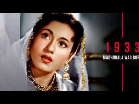 GUZRA HUA ZAMANA AATA NAHIN DOBARA ( MADHUBALA ) -- THE VENUS OF INDIAN CINEMA .