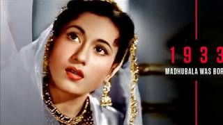 GUZRA HUA ZAMANA AATA NAHIN DOBARA ( MADHUBALA ) -- THE VENUS OF INDIAN CINEMA .