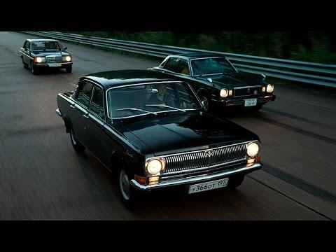 Ретротест: Волга ГАЗ-24, Mercedes-Benz 230, Toyota Corona Mark II