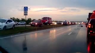 Смертельное ДТП на трассе Челны - Заинск 5 августа 2018