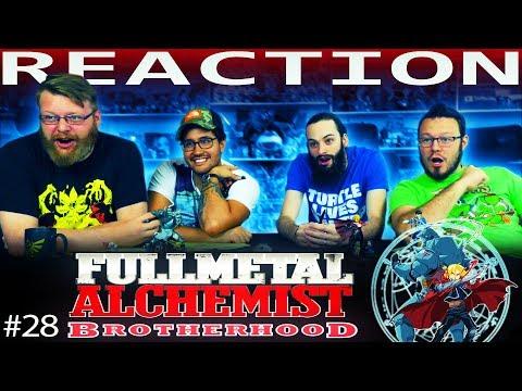 "Fullmetal Alchemist: Brotherhood Episode 28 REACTION!! ""Father"""