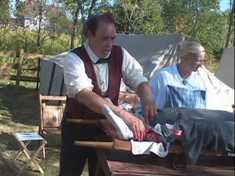 Civil War Reenactment - Field Hospital (Amusing Commentary)