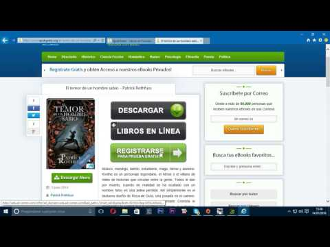 Tutorial Descargar Epub Gratis 2016