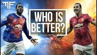 Romelu Lukaku vs. Zlatan Ibrahimovic | Who is better? | 2017 | HD