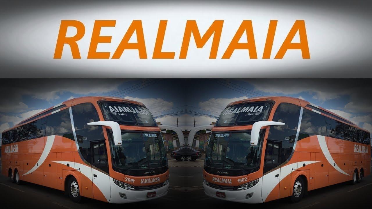 #LinhasInterestaduais   REALMAIA (Linhas e concorrentes)