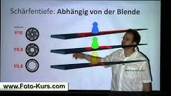 Fotokurs: Schärfentiefe verstehen und Bildgestaltung - http://www.Foto-Kurs.com