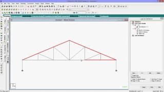 Repeat youtube video Staad Pro Tutorial for Beginners-How To Analyse Frame Truss With Design