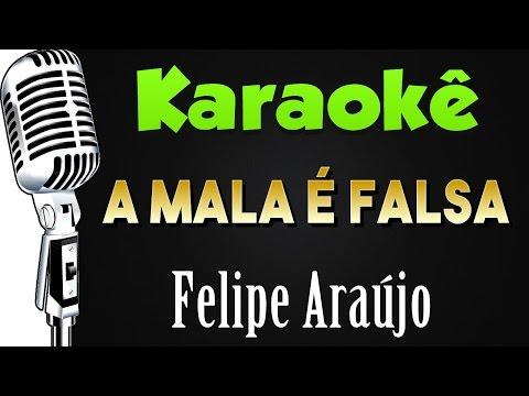 🎤 Karaokê - A Mala é Falsa - Felipe Araújo