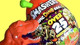 HUGE Dinossor egg - Smashers Epic Dino Egg