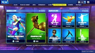 BOUTIQUE FORTNITE du 16 Fevrier 2019 ! ITEM SHOP February 16 2019
