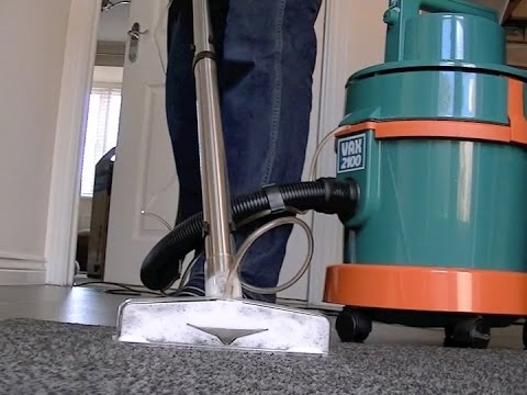 Vax 2100 Multifunction Vacuum Cleaner Carpet Washing Demonstration