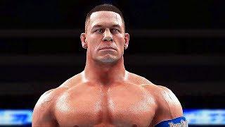 WWE 2K18 Gameplay John Cena (2017) PS4 / Xbox One