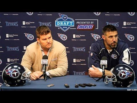 Titans Pre-Draft Press Conference