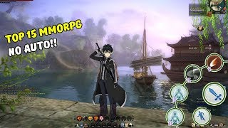 15 Games Android MMORPG No Auto Terbaik 2018 I Top MMORPG Android No Auto!!
