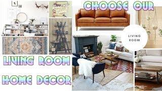 Choose our Living room decor - Bohemian Mood board