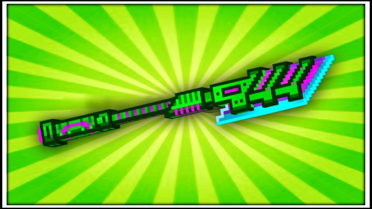 pixel gun 3d adamant spear review youtube