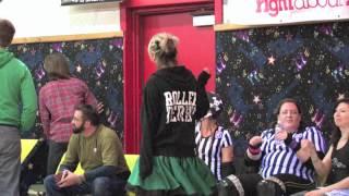 "2012 Queen City Roller Girls Alley Kats vs. Devil Dollies. ""Whip It"" Highlights"