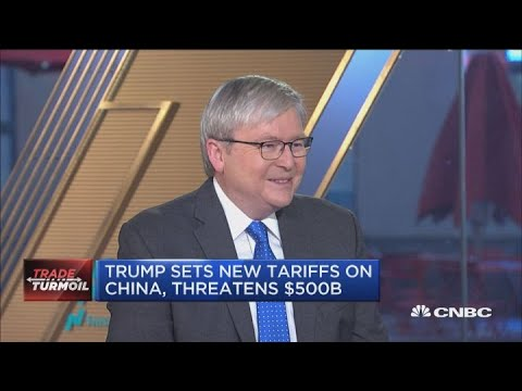 Trade wars are easy to start but hard to stop, says Kevin Rudd
