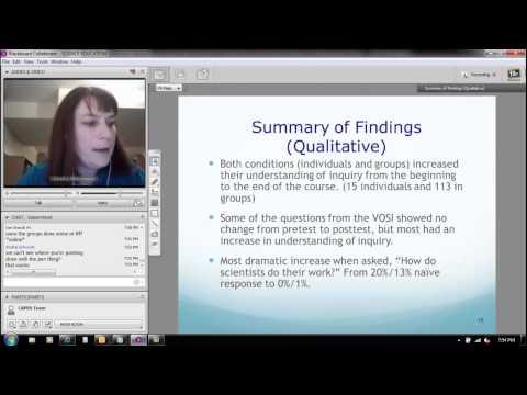 CAPER Colloquium - Dr. Kendra Sibbernsen, Metropolitan Community College, October 28, 2012