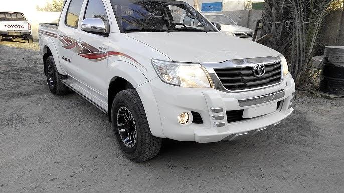 Toyota Hilux Petrol 2015 In Dubai Youtube
