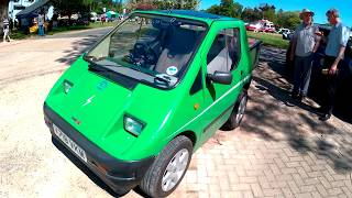 1993 KEWET EL-JET Electric Car With Single Wheel Trailer