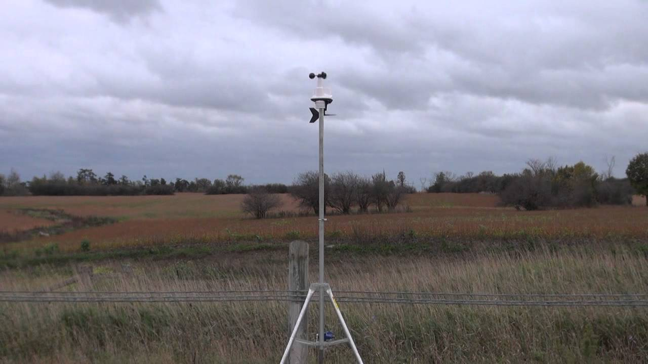 Davis Vantage Vue >> Davis Vantage Vue - Remote Station Test - YouTube