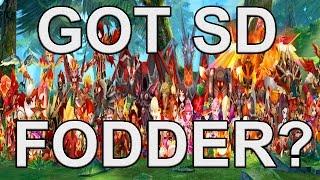 Summoners War: Secret Dungeon Fodder