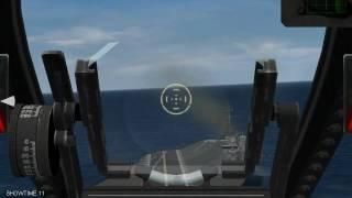 Wings over Vietnam - Carrier landing