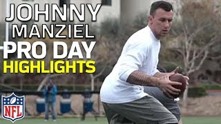 Johnny Manziel's Pro Day Highlights from University of San Diego | NFL
