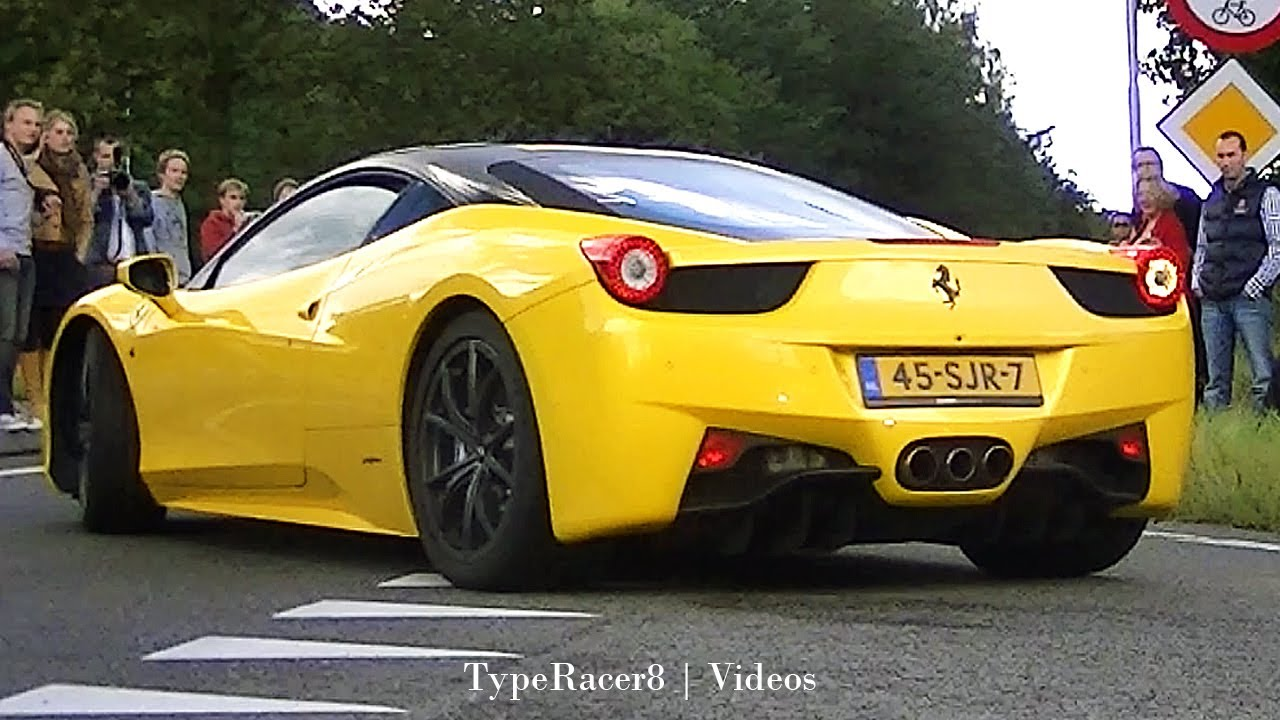 Ferrari 458 Italia & Spider Sounds! 1080p HD! - YouTube