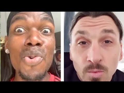 Ибрагимович бросил вызов Погба и Поль ответил Златану + другие новости футбола | Инсайд