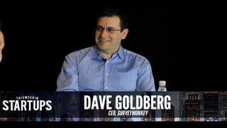 startups   dave goldberg of surveymonkey   251