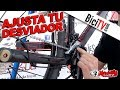 Cómo ajustar un desviador delantero de bicicleta