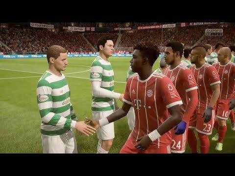 FIFA 18 SIM: BAYERN MUNICH V CELTIC IN THE CHAMPIONS LEAGUE