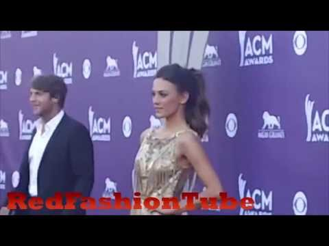 Jena Kramer arrives at the 48th Annual Academy of Country Music Awards