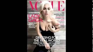 Lady Gaga in Vogue.
