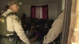 CBS News gets inside look at immigration raid