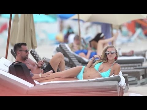 Laura Cremaschi is Back in a Thong Bikini  Splash  TV  Splash  TV