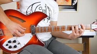 The Beatles - If I Fell - Guitar Cover - Rickenbacker 360/12c63