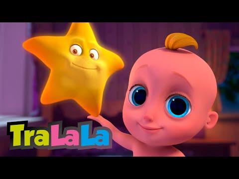 Straluceste, mica stea!  Cantec de leagan pentru copilasi |  TraLaLa – Cantece pentru copii in limba romana
