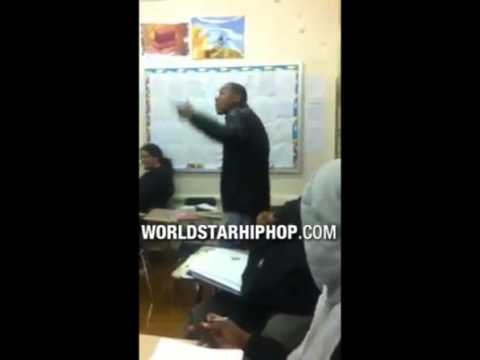 Video  Disrespectful  This Student Went Off On His Teacher Cause He Failed Him!